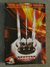 "Tom Anderson Fantasy Designs""Pantera""Wall Display Knife Wolverine Master Cutlery"