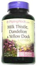 180 Capsule Milk Thistle, Dandelion, Yellow Dock, Beet Root Combo Complex Pill