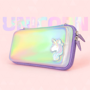GeekShare Unicorn Nintendo Switch Case Switch Travel Carrying Case Storage Bag
