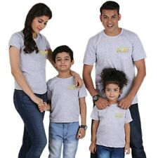 family look t shirt mother daughter father son matching clothes daddy mommy and