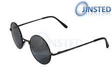 Steampunk teashades gafas de sol Gafas de sol Tonos círculo Vintage Redondo Negro sp009