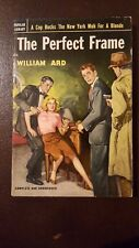 """William Ard, """"Perfect Frame,"""" 1952, Popular Library 416, VG, 1st"""