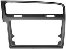 Marco autoradio negro VOLKSWAGEN Golf VII  Codigo de producto: 03052