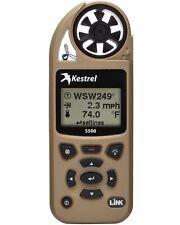 Kestrel 5500 Pocket Weather Meter with Link and Vane Mount Tan