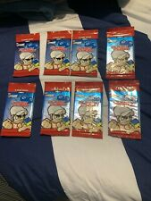 Tech Deck Dude Evolution Series 1 Clash Cubes Skater Trading Card Lot 8 Packs