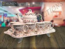 Tea Set Bone China Elegant Design Luxury Cup Saucer For 6