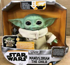 Star Wars The Mandalorian The Child Grogu Animatronic Edition Hasbro New