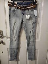 Vanilla Star Women's Juniors Jeans Light Wash Size 9 New W Tags $44