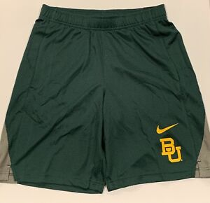 Colosseum Baylor Bears Mens Green Synthetic Layup 2 Shorts
