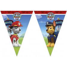 Paw PATROL Happy Birthday Party a Tema Bandiera Bandierine banner lunghi 2.3m