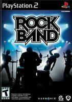 Rock Band - Authentic Sony Playstation 2 PS2