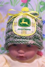 Handmade Knit Baby Deer Camouflage Hat