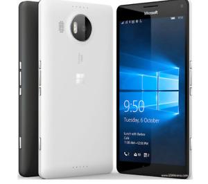 "Unlocked Nokia Microsoft Lumia 950XL Dual SIM 32GB 5.7"" Smartphone Black/White"