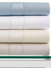 HOTEL COLLECTION 600TC QUEEN SOLID FLAT SHEET EGYPTIAN COTTON WHITE $135