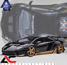 AUTOART 79184 1:18 LAMBORGHINI AVENTADOR LIBERTY WALK LB-WORKS BLACK