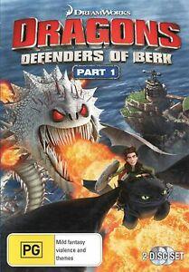 Dragons Defenders of Berk Part 1 DVD Region 4 NEW+SEALED