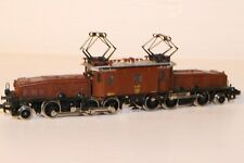 N Gauge Minitrix Swiss Crocodile 2-6-6-2 --- Boxed 12956