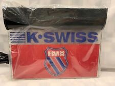 """K-SWISS Shoe Brand Hanging Lighted Store Retail Sign NEW 16"""" x 13"""""""