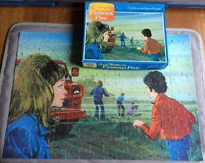 """Vintage """"Enid Blytons Famous Five"""" 224 Large Piece Jigsaw Puzzle, Whitman, 1975"""