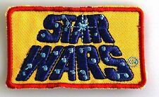 Star Wars - Classic Retro Logo - Uniform Patch - Kostüm Aufnäher - zum Aufbügeln