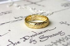 One Ring Necklace - Tolkien Inspired, Lord of the Rings The Hobbit