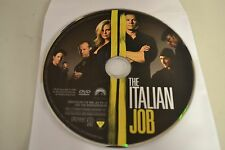 The Italian Job (DVD, 2003, Widescreen)Disc Only Free Shipping