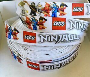 YARD LEGO NINJAGO LLOYD CHILDREN GROSGRAIN RIBBON CHARACTER CRAFT CAKE BOW