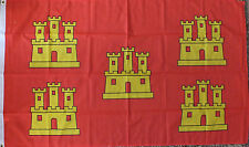 Poitou-Charentes France Flag 5x3 French Region Francais Heraldic Medieval bn