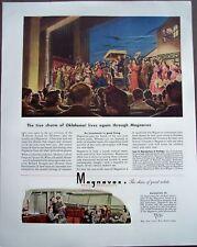 1945 Magnavox Radio musical Oklahoma! vintage ad