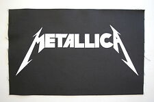 Metallica Backpatch (BP110) Metal Rock Back Patch Iron Maiden Megadeth Slayer
