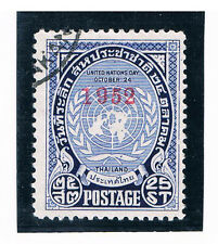 THAILAND 1952 UN Day FU
