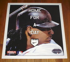 2008 ALL-STAR GAME NYC SUBWAY POSTER MANNY RAMIREZ