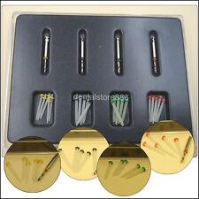 1 Box Dental Fiber Set 20 pcs Fiber Post & 4 Drills Dentist Product