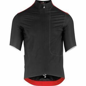 Assos Men's Liberty Equipe RS Thermo Rain Jersey Medium Black MSRP $399