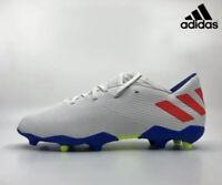 Adidas Nemeziz FG 19.3 Cloud White Football Soccer Boots Size U.K. 8 Us 8.5