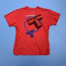 Vintage 70s 80s The Tubes Tee Shirt Prairie Prince Single Stitch Todd Rundgren M