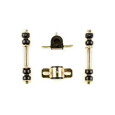 1971 1972 Chevrolet Chevelle Black Polyurethane Sway Bar Link and Bushing Set