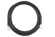 JSC RG-8X jumper, 50 FT with PL-259 connectors for HAM and CB, MADE IN USA!