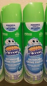 Lot Of Two 22oz bottles Scrubbing Bubbles multisurface Grime Cleaner KILLS 99.9%