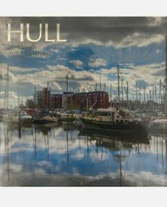 Hull 16 Month 2022 Wall Calendar - Large Squares to write in. Beautiful Photos