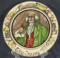 The Squire D6284 Collector Plate The Professionals Royal Doulton Series Ware