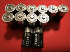 Alkaline Batteries Size C (Pack Of 24). Tested