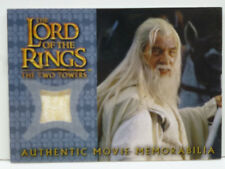"Lord of the Rings Topps TT ""Gandalf the White's Silk Shirt"" Costume Card"