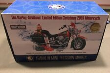 Franklin Mint Harley-Davidson Limited Edition Christmas 2003 Motorcycle 1:10