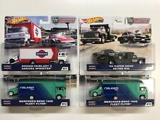 2019 Hot Wheels Car Culture Team Transport Case D Set of 4, 1/64 Cars FLF56-956D