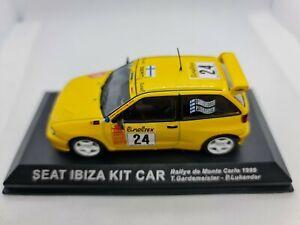 1:43 Scale Diecast Seat Ibiza Kit Car Monte Carlo 1999 T.Gardemeister/P.Lukander