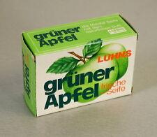 NEU Grüner Apfel Luhns 125g Seife in OVP Sammlerobjekt unbenutzt