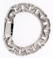 Modeschmuck-Armbänder im Ketten-Stil aus Edelstahl mit Magnetverschluss