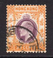 Hong Kong 1907-11 30 cents Used Stamp (613)