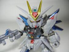 "SD Gundam Gashapon Soldier Dash SP01 ""ZGMF-X20A Strike Freedom "" Metalic color"